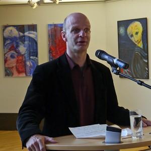 Eröffnung der Ausstellung im SPD-Foyer.