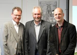 Michael Heidinger, Volker Grans, Stefan Zimkeit.