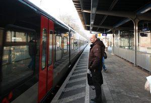 Der RegionalExpress 19 verbindet Dinslaken und Oberhausen.