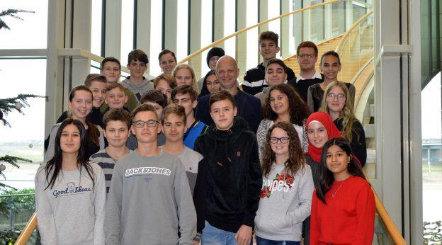 Klasse 8 im Landtag