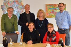 Gespräch über Kitas in Oberhausen